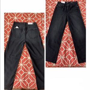 7 For All Mankind Jeans - Cropped Alexa Wide Ankle Leg
